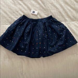 NWT Gap Kids Studded Skirt